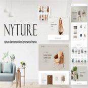 قالب فروشگاهی Nyture برای وردپرس
