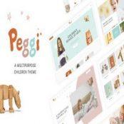 قالب کودکانه Peggi برای وردپرس