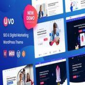 قالب سئو و مارکتینگ UVO برای وردپرس